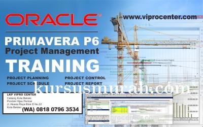 Tempat Kursus dan Pelatihan Primavera P6  Online maupun Offline